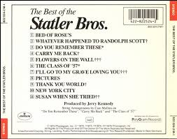 The Statler Brothers Bed Of Rose S Cd Album The Statler Brothers The Best Of The Statler Brothers