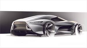 supercar drawing how to render a sketch in photoshop local motors
