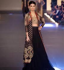 tunning looks latest design pakistani wedding dresses in black