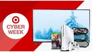 target black friday week daily deals cyber week