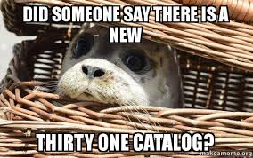 Meme Catalog - did someone say there is a new thirty one catalog impending doom