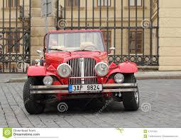 prague car retro alfa romeo car editorial image image 47157520