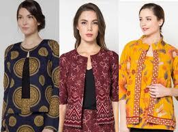 desain baju batik untuk acara resmi 5 model baju batik modern terbaru yang cocok untuk ngantor dan kuliah