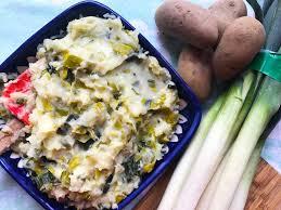 cuisiner les verts de poireaux purée ch de pommes de terre au verts de poireaux my cancale