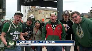 milwaukee bucks fan pack bucks fans revved up ahead of game 3 matchup with toronto tmj4