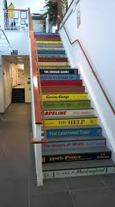 Tiles For Stairs Design Custom Book Decals Price Is For Each Step Riser