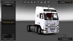 white volvo truck обзор volvo fh12 euro truck simulator 2 1 27x youtube