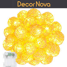 Led Wire String Lights by String Lights Cool White Decornova