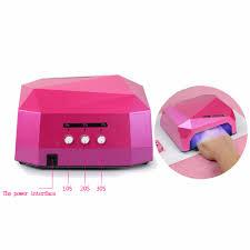 f9s 36w uv lamp nail dryer led ultraviolet lamp for nails diamond