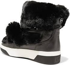 amazon com michael kors boots navigate snowy winter weather with ease in michael kors nala boots