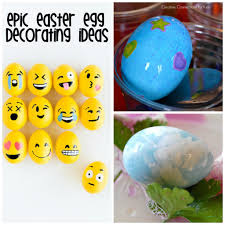 37 epic ways to decorate your easter eggs crystalandcomp com