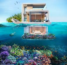 a dream house floating underwater houses snorkeler s dream house