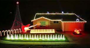 christmas light show house music oh come all ye jedi california christmas lights get cool star wars