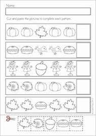 finish the pattern good for assessment math activities prek