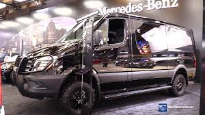 mercedes vito interior 2016 mercedes benz sprinter bluetec 4x4 exterior and interior