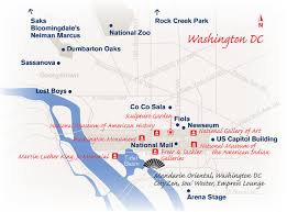 Maps Of Washington Dc by Washington Dc Luxury Travel Concierge Destination Mo By Mandarin