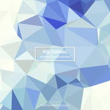 polygonal light blue pattern background vector 123freevectors