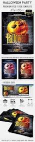 halloween party u2013 flyer psd template facebook cover u2013 by