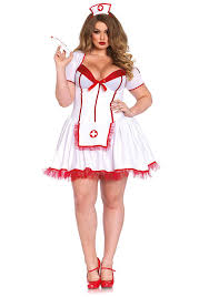 amazon com leg avenue women u0027s plus size curvy nurse clothing