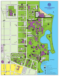 Western Michigan University Campus Map by Stadiums Of Northwestern University Thinglink