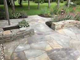 Dry Laid Bluestone Patio by Hardscape Installations
