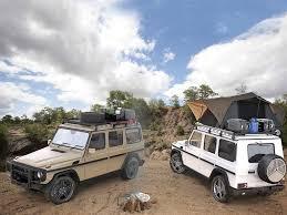 mercedes g class mercedes gelandewagen g class slimline ii roof rack kit by front