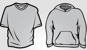 hoodie and basic t shirt templates free download t shirt template