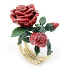 red rose rings images Rose ring bloom good after nine jpg