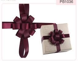 gift box bows handmade packing bows custom printed ribbon bows perfume wine
