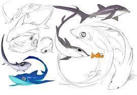 shark week pelagic thresher by snowkatt101 on deviantart