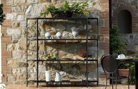 etagere in ferro scaffale in ferro porta fiori etagere arredo design