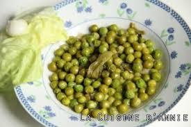 cuisiner des petit pois surgel recette petits pois à la française la cuisine familiale un plat