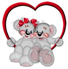 valentines bears valentines bears with heart png picture clipart gallery