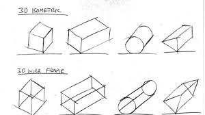 simple orthographic drawing exercises 25 best ideas about