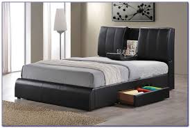 queen size bed frame with drawers plans bedroom home design