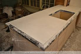 How To Make A Concrete Bench Top Diy Pour In Place Concrete Countertops U2013 Part 2