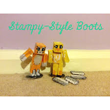 s boots style minecraft stop motion sty style boots for sty and sqaishey