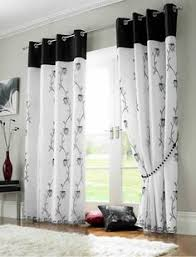 2 Tone Curtains New 2 Set Grommet Panel Curtains Beige Chocolate 80