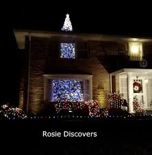 rosie discovers nifty christmas light displays in lincolnwood il