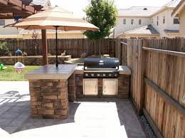ideas for outdoor kitchens kitchen backyard design best 25 backyard kitchen ideas on