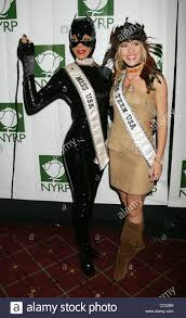 oct 31 2008 new york ny usa l r miss usa 2008 crystle