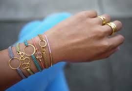 stackable bracelets diy macrame bracelet