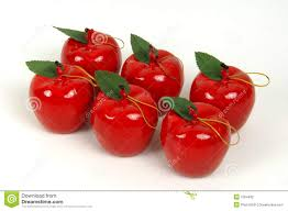 apple ornaments stock photo image of 7264492