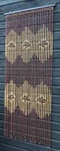 Hippie Beaded Door Curtains Diamond And Waves Pattern Black Wooden Door Beads Door Beads