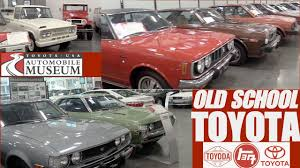 toyota usa classic toyota cars at toyota usa automobile museum youtube