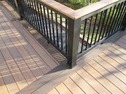 st louis deck builders railing ideas by archadeck two tone floor