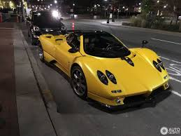 pagani dealership tucked away in the harbor pagani zonda c12