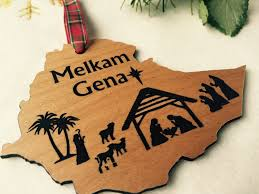 melkam gena ornament nativity