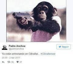 Gorilla Warfare Meme - spanish memes mock britain comparing hero soldiers to gibraltar s