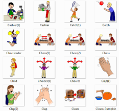Action Words Resume Actions Dictionary For Kids